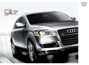 Audi Q7 - Audi of America