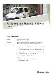 Fertigung und Planung in einem Haus ...