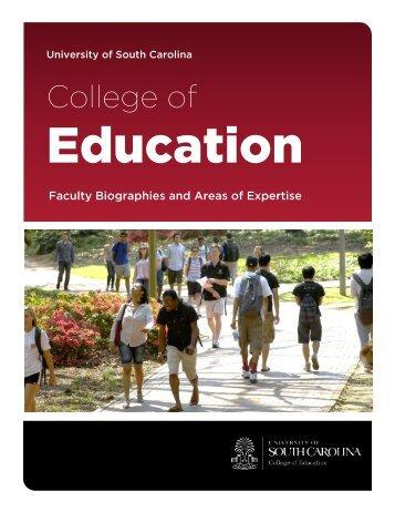 College of Education - University of South Carolina