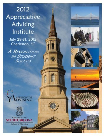2012 Appreciative Advising Institute - College of Education ...