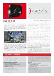 EC-70-SXT+ - Eyevis GmbH