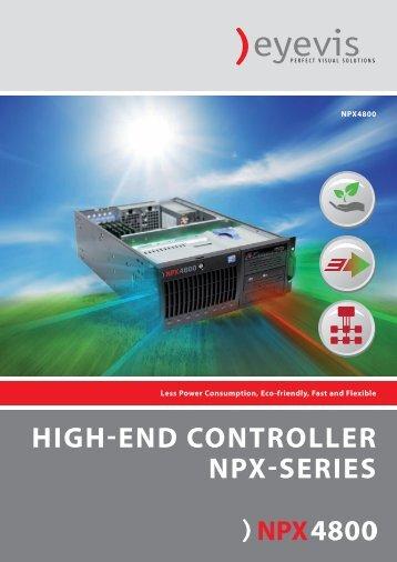 HIGH-END CONTROLLER NPX-SERIES - Eyevis GmbH