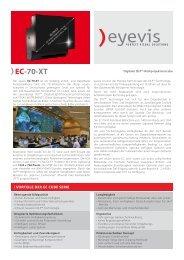 EC-70-XT - Eyevis GmbH