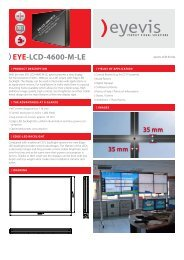EYE-LCD-4600-M-LE - Eyevis GmbH