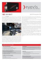 EC-56-WXT - Eyevis GmbH