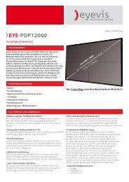 EYE-PDP12000 - Eyevis GmbH