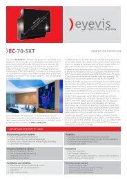 EC-70-SXT - Eyevis GmbH
