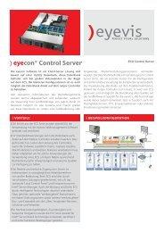 ECS Serie - Eyevis GmbH