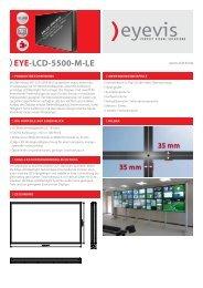 EYE-LCD-5500-M-LE - Eyevis GmbH