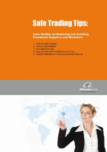 1. Tips for Safe Trading - Alibaba