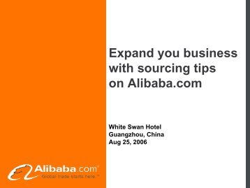 Suppliers - Alibaba