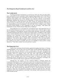 Hungarian Royal Gendarmerie and the Jews.pdf - Magyar Királyi ...