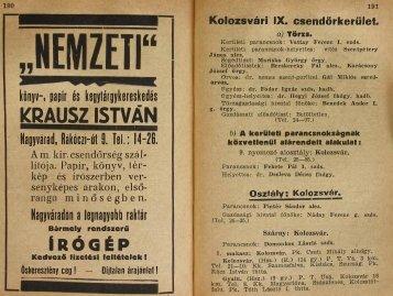 KRAUSZ ISTVAN - Magyar Királyi Csendőrség