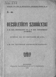 Becsületügy1940 1-79p.pdf - Magyar Királyi Csendőrség