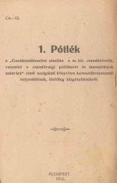 1. pói ·lék - Magyar Királyi Csendőrség
