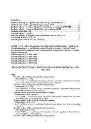 Összes rendelet mutatója.pdf - Magyar Királyi Csendőrség