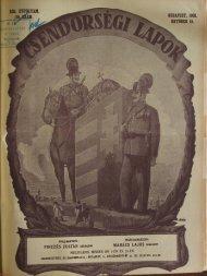 BUDAPEST, 1931. OKTÓBER 15. - Magyar Királyi Csendőrség
