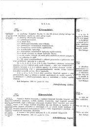 Körrendelet. Kör:fendelet. - Magyar Királyi Csendőrség
