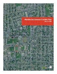 Mendocino Avenue Corridor Plan - City of Santa Rosa