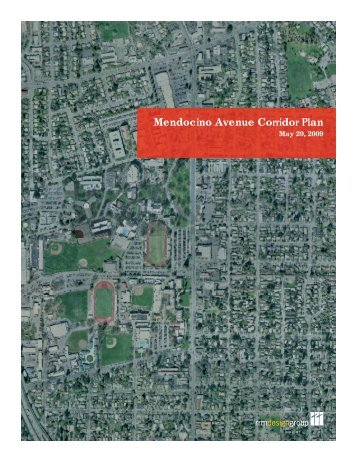 Mendocino Avenue Corridor Plan - City of Santa Rosa