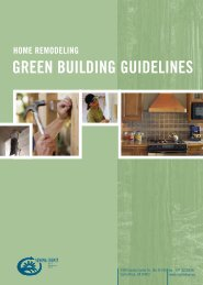 home remodeling green building guidelines - City of Santa Rosa