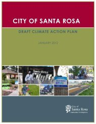Public Draft Climate Action Plan document - City of Santa Rosa
