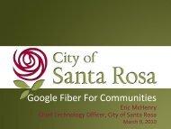 Google Fiber For Communities - City of Santa Rosa