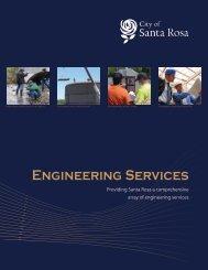 Engineering Services Brochure - City of Santa Rosa
