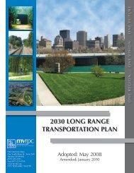 2030 long range transportation plan - MVRPC Document server ...