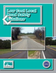 Solutions Low Cost Local Road Safety
