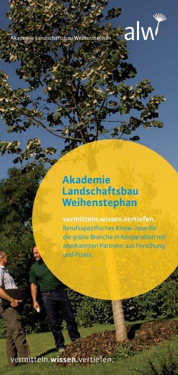 Akademie Landschaftsbau Weihenstephan - Gruene-branche.com