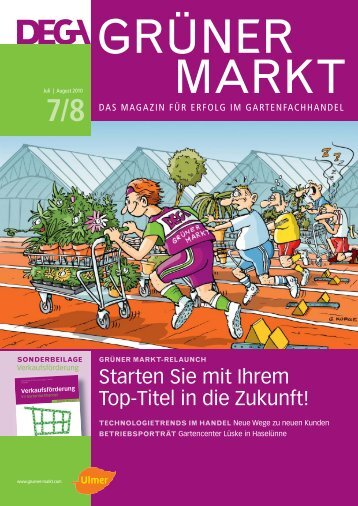 Grüner Markt - Gruene-branche.com