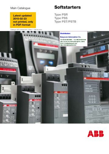 Softstarters - Abb - ABB Group