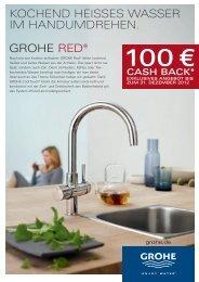 grohe red® kochend heisses wasser im handumdrehen.