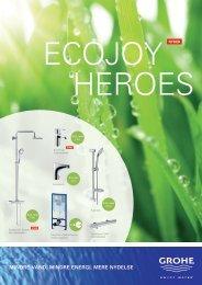 Mindre vand, Mindre energi, Mere nydelse - Grohe