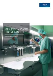 HEALTH + CARE FROM GROHE