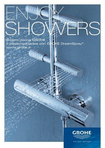 Sistemi doccia GROHE Il massimo piacere con GROHE ...