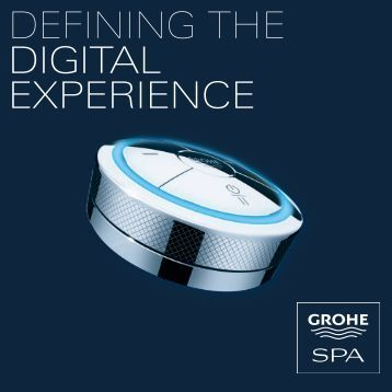 Grohe Defining the Digital Experience - Faucets