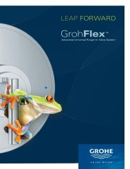 Leap forward - Grohe