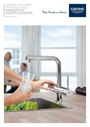 Your GROHE Kitchen grohe.co.uk