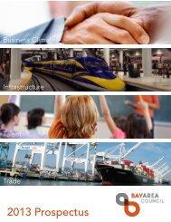 2013 Prospectus - Bay Area Council