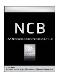 USA NCB; Assessing PM Knowledge, Behavioral Attributes ... - asapm