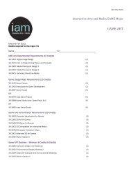 Game Art Guide Sheet - IAM