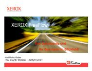 XEROX Freeflow
