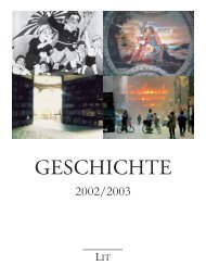 Geschichte 2002/2003