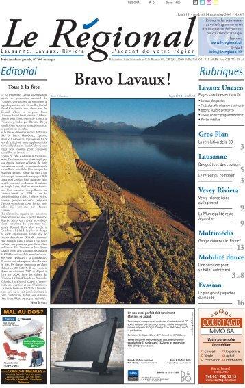 Bravo Lavaux!