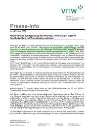 Presse-Info - Analyse & Konzepte