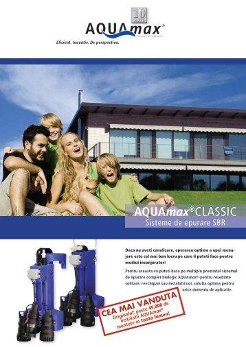 Brosura AQUAmax ® CLASSIC