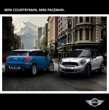 MINI Countryman. MINI PACEMAN. - Library of Motoring