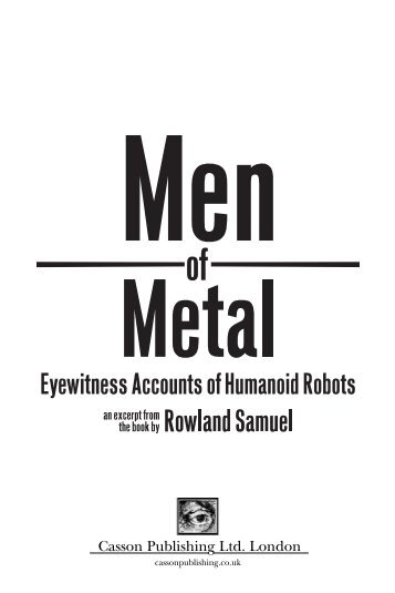 Men of Metal - Casson Publishing